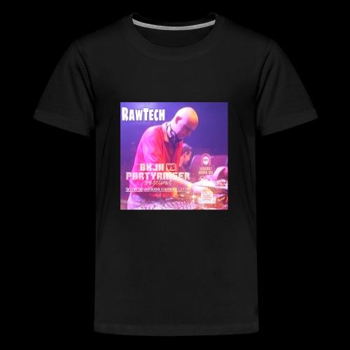 Rawtech @ BKJN vs Partyraiser festival 2018 - Teenager Premium T-shirt