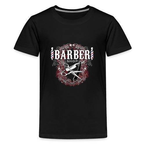 Barber Shop_03 - Maglietta Premium per ragazzi