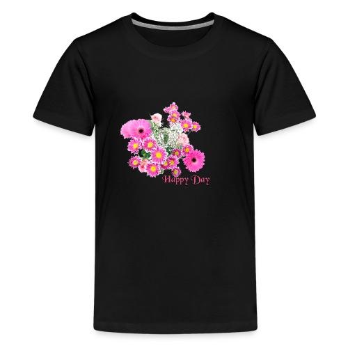 Happy Day Blumen - Teenager Premium T-Shirt