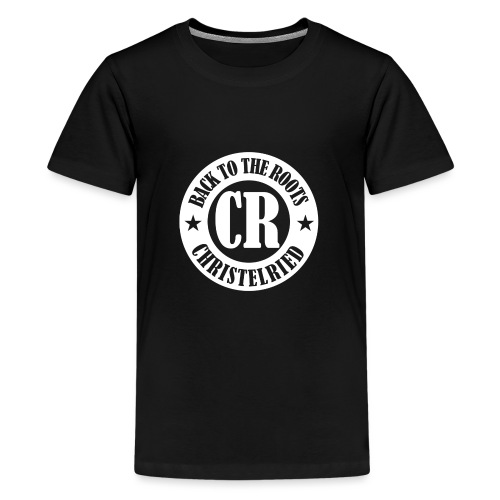 Logo back to the roots_we - Teenager Premium T-Shirt