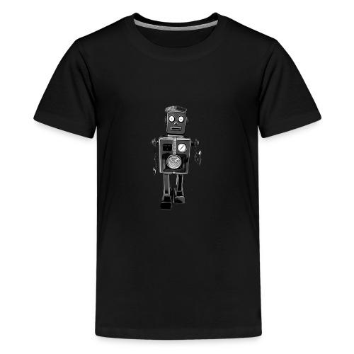 Roboter Scifi T-Shirt vintage Geschenkidee Cool - Teenager Premium T-Shirt