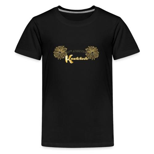 KnutstockAnniversaryLogo Firework - Teenager Premium T-Shirt