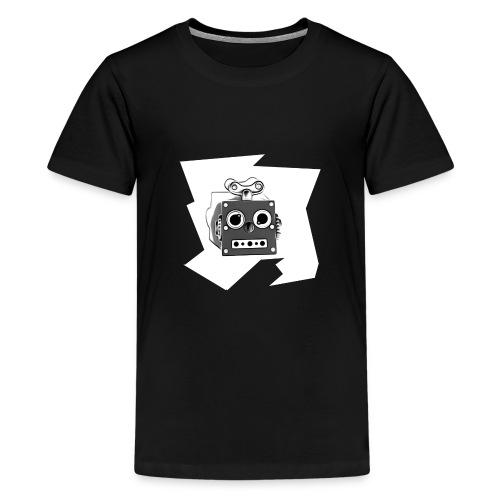 Cooles lustiges Sci-Fi T-Shirt mit vintage Robobot - Teenager Premium T-Shirt