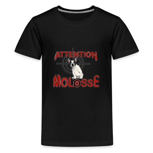 Attention Molosse Bouledogue Français - T-shirt Premium Ado