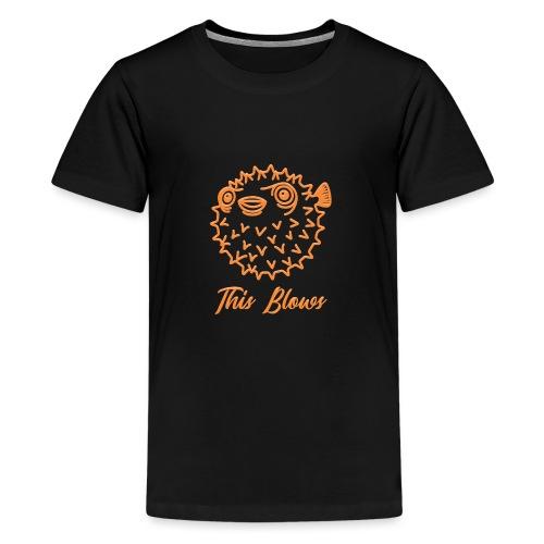 puffer - Teenage Premium T-Shirt