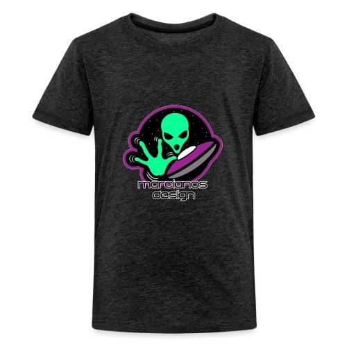 Logo Marcianos v.2 - Camiseta premium adolescente