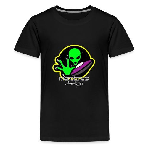 Logo Marcianos - Camiseta premium adolescente