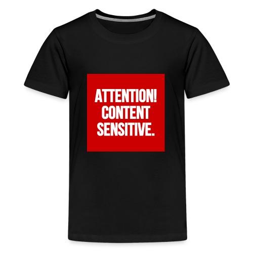 Attention! Content sensitive. - Teenager Premium T-Shirt