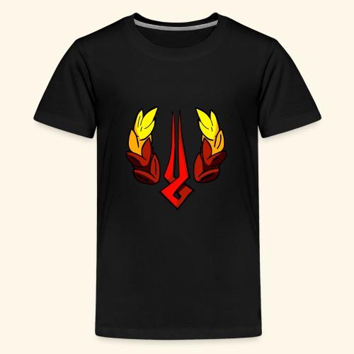 Hades The Game Logo Saving Icon Supergiant - Teenage Premium T-Shirt