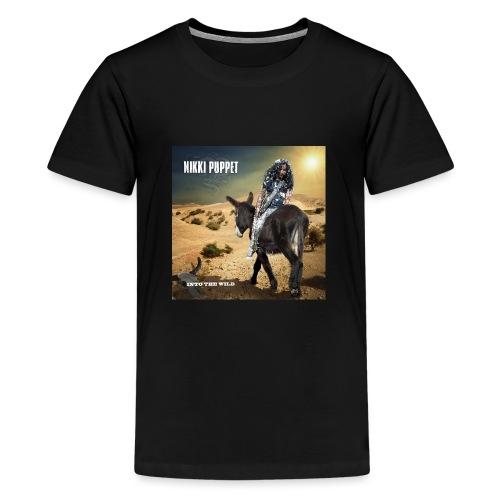 NIKKI PUPPET INTO THE WILD - Teenager Premium T-Shirt