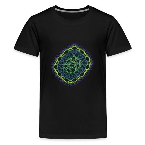 Emerald weave spun from the chaos 5320viridis - Teenage Premium T-Shirt