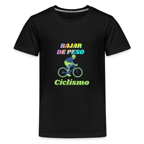 Ciclismo para perder peso - Camiseta premium adolescente