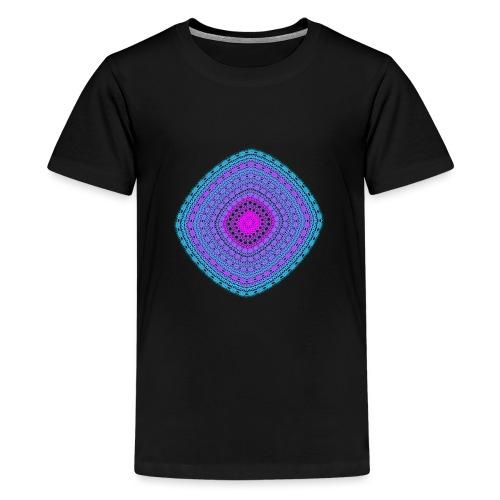 cheerful blue diamond 5400 cool poster - Teenage Premium T-Shirt