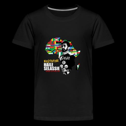 RASTAFARI ALL NATIONS - Teenager Premium T-Shirt