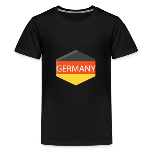 germany - Teenage Premium T-Shirt