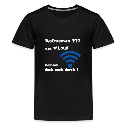 Wlan WE - Teenager Premium T-Shirt