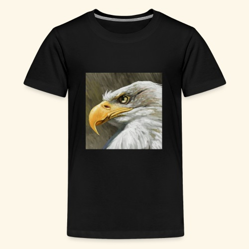 Bald Eagle - Teenage Premium T-Shirt