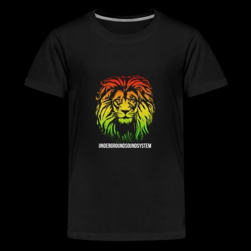 LION HEAD UNDERGROUNDSOUNDSYSTEM AUSTRIA - Teenager Premium T-Shirt