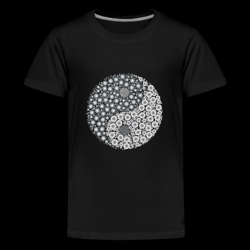 Yin Yang - Teenager Premium T-shirt