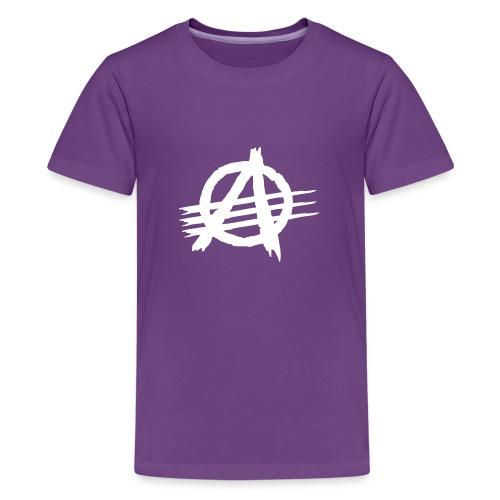 AGaiNST ALL AuTHoRiTieS - Teenage Premium T-Shirt