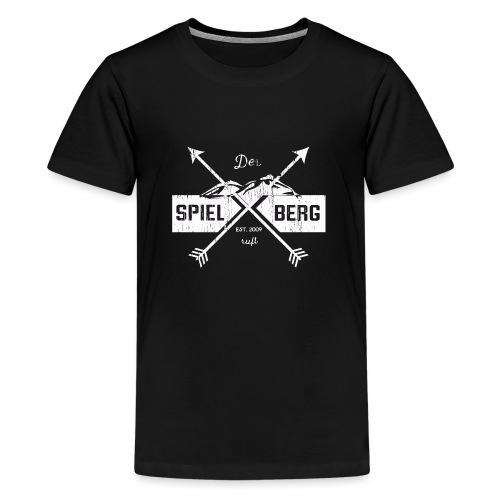 Der Spielberg White - Teenager Premium T-Shirt