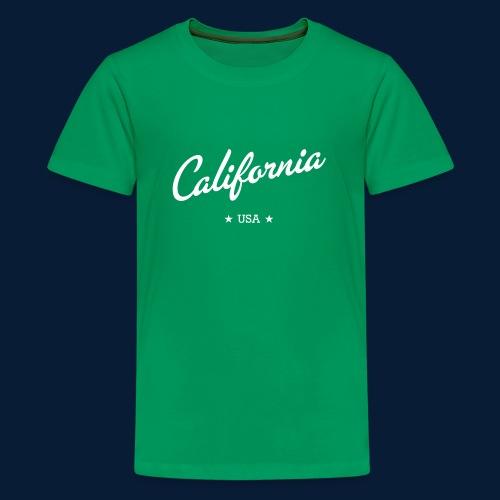 California - Teenager Premium T-Shirt
