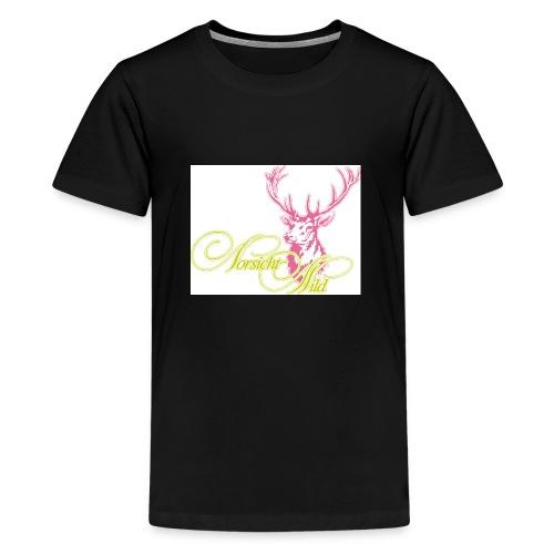 stag Vorsicht Wild - Teenager Premium T-Shirt