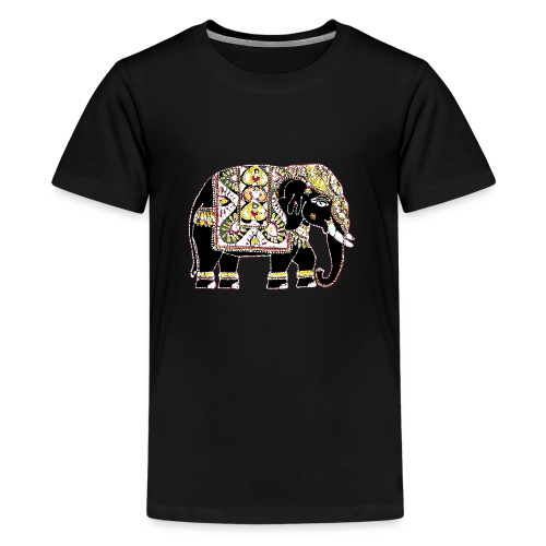 Indian elephant for luck - Teenage Premium T-Shirt