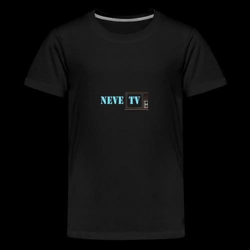 Kaffi koppen (stort motiv) - Premium T-skjorte for tenåringer