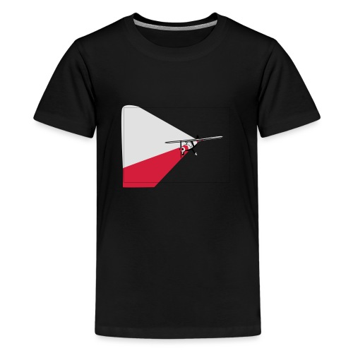 AVION TRICOLOR - Camiseta premium adolescente