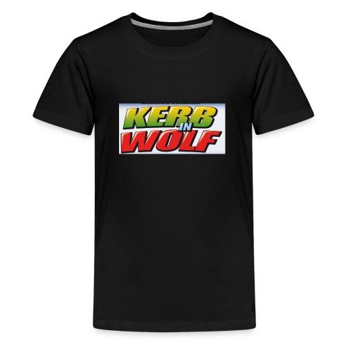 Logo Kerb in Wolf 3 - Teenager Premium T-Shirt