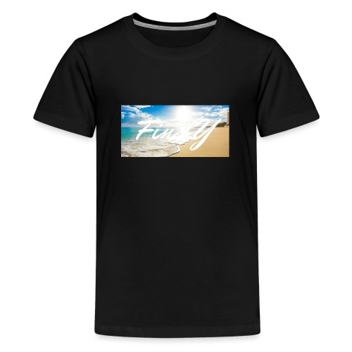 FinlY Beach - Teenage Premium T-Shirt