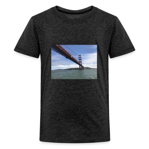 Golden Bro - Teenager premium T-shirt