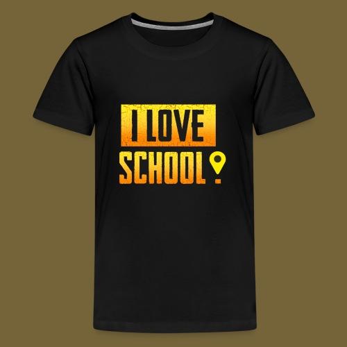 i love school - Teenager Premium T-Shirt