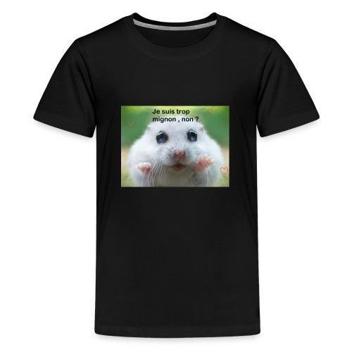 Animal trop mignon - T-shirt Premium Ado