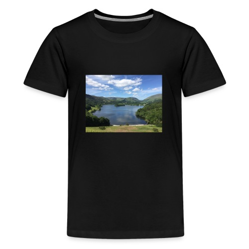Summer in The Lakes - Teenage Premium T-Shirt