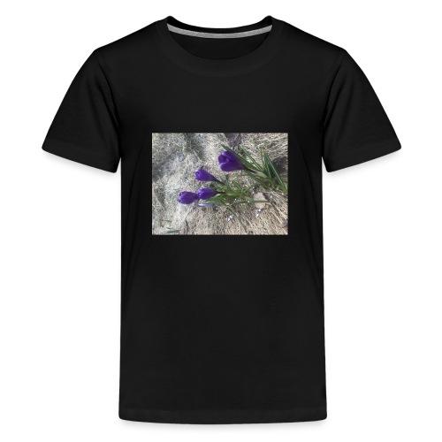 8C76D665 0CE4 4F3F 9894 AAFCB77B39B9 - Premium T-skjorte for tenåringer