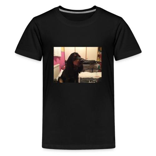 HarleyTheDog - Teenage Premium T-Shirt