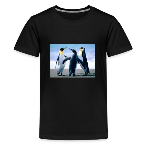 penguin squad - Teenage Premium T-Shirt