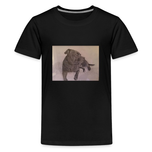 My dog - Premium-T-shirt tonåring