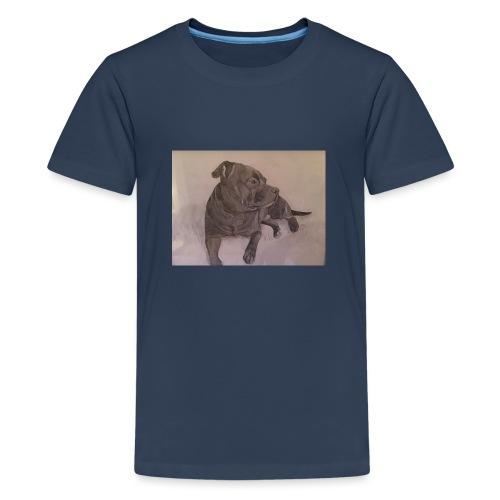 My dog - Premium-T-shirt tonåring