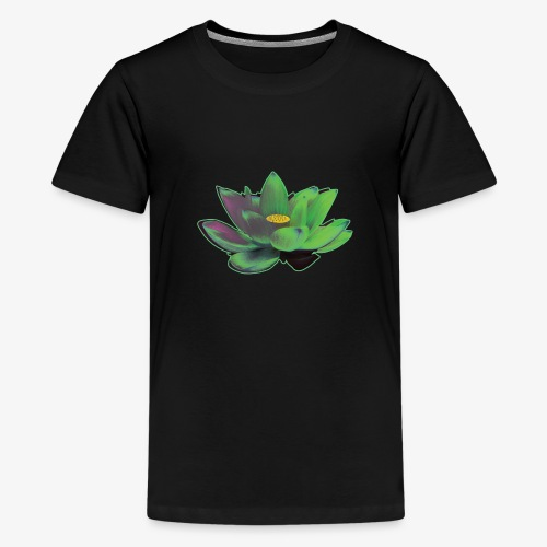 Lotusblüte grün - Teenager Premium T-Shirt