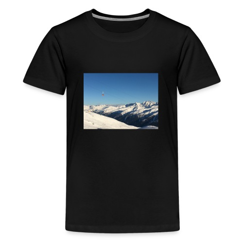 bergen - Teenager Premium T-shirt
