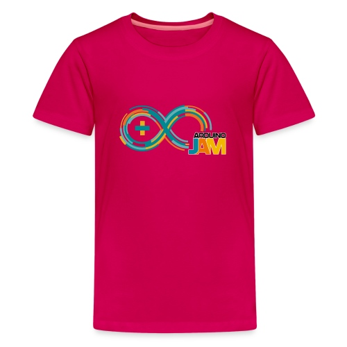 T-shirt Arduino-Jam logo - Teenage Premium T-Shirt