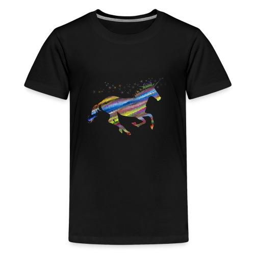 licorne multicolor - T-shirt Premium Ado