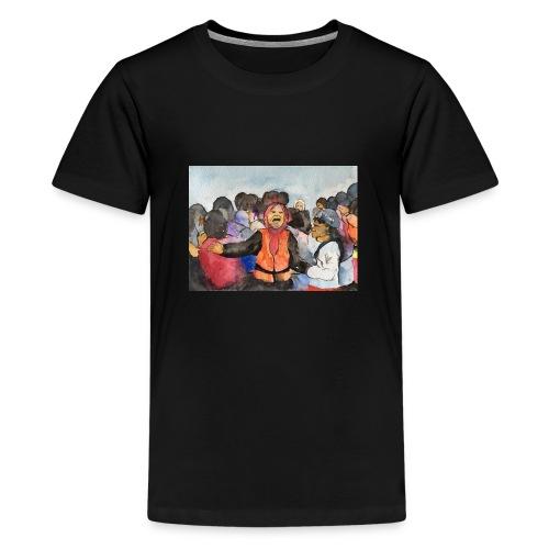 Lezvos22 - Premium-T-shirt tonåring
