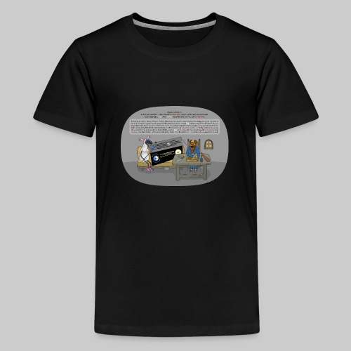 VJocys Sun - Teenage Premium T-Shirt
