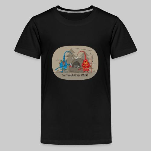 VJocys Santa Blue - Teenage Premium T-Shirt