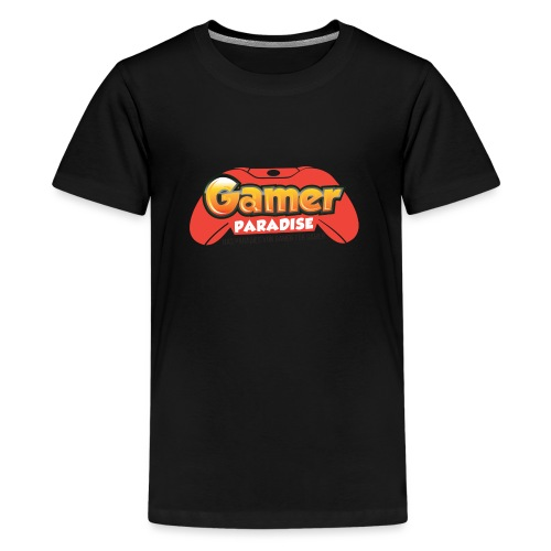 Gamer Paradise Logo - Teenager Premium T-Shirt