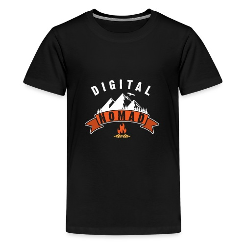 Digital Nomad - Teenager Premium T-Shirt